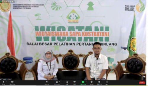 BPPSDMP Kementan Edukasi Insan Pertanian Penggunaan Pupuk Hayati Mikoriza melalui Wisatani