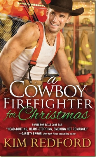 A Cowboy Firefighter for Christmas by Kim Redford - Thoughts in Progress
