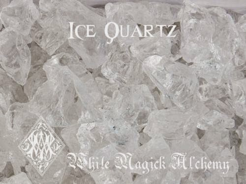 Ice Quartz Crystal From Brazil Crystal Clear Raw Diamond Nugget Large By Whitemagickalchemy
