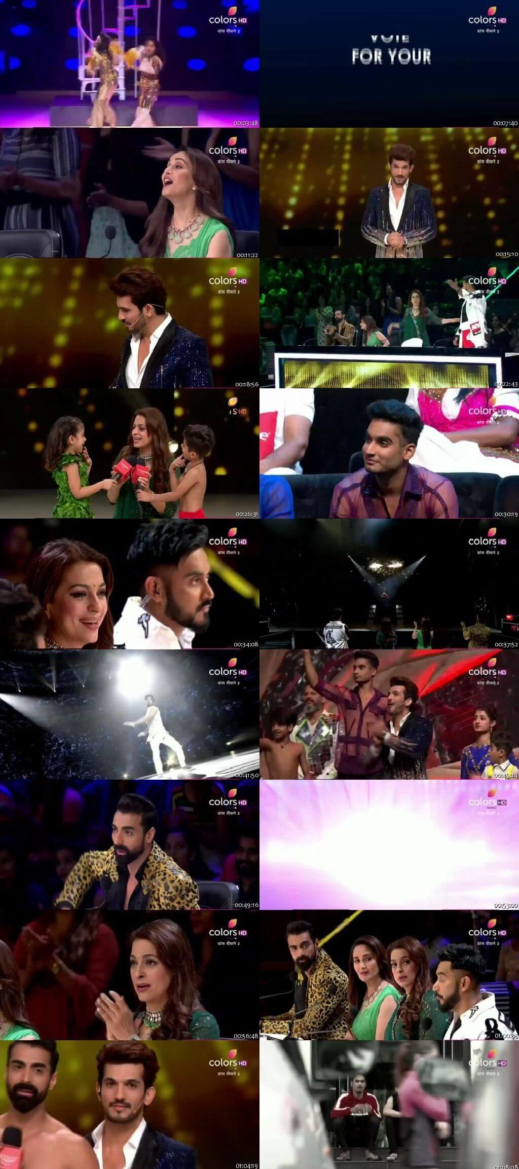 Screenshots Of Hindi Show Dance Deewane 2 21st September 2019 Episode 29 300MB 480P HD