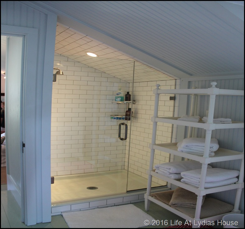 third floor shower area