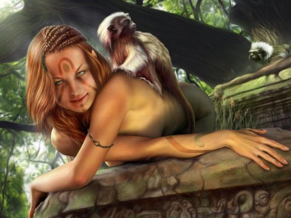 Elf Girl Of Jungle, Elven Girls 2