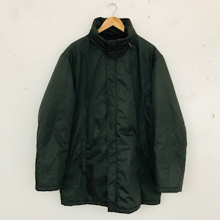 Prada Green Nylon Coat