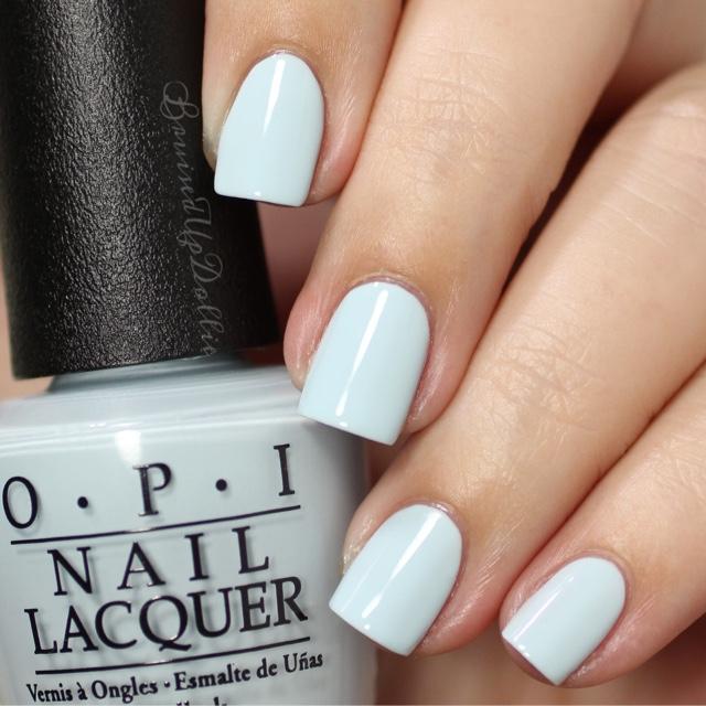 Opi Soft Shades 2016 - BruisedUpDollie Nails