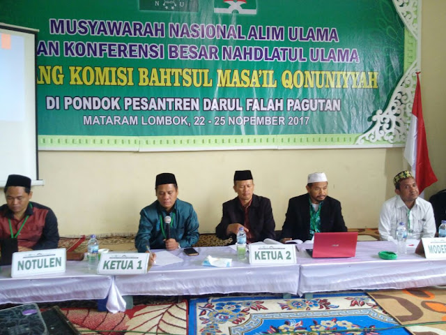 Komisi Bahtsul Masail Qonuniyyah NU Soroti Sejumlah Isu dalam RUU KUHP
