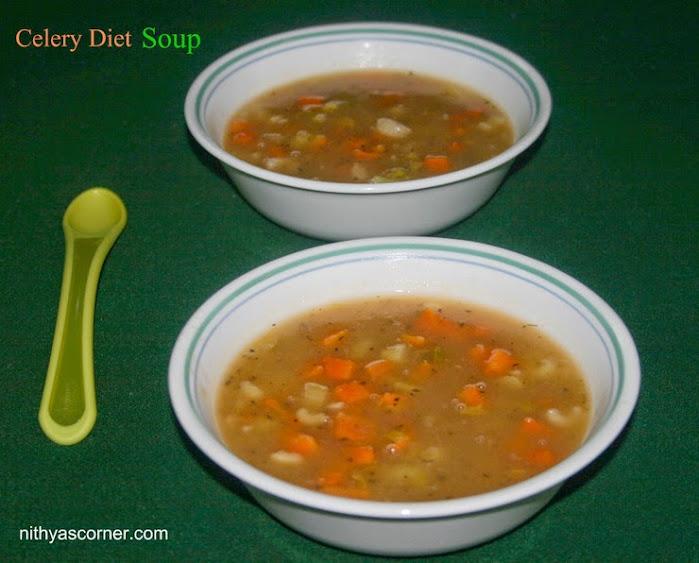 Celery Diet Soup