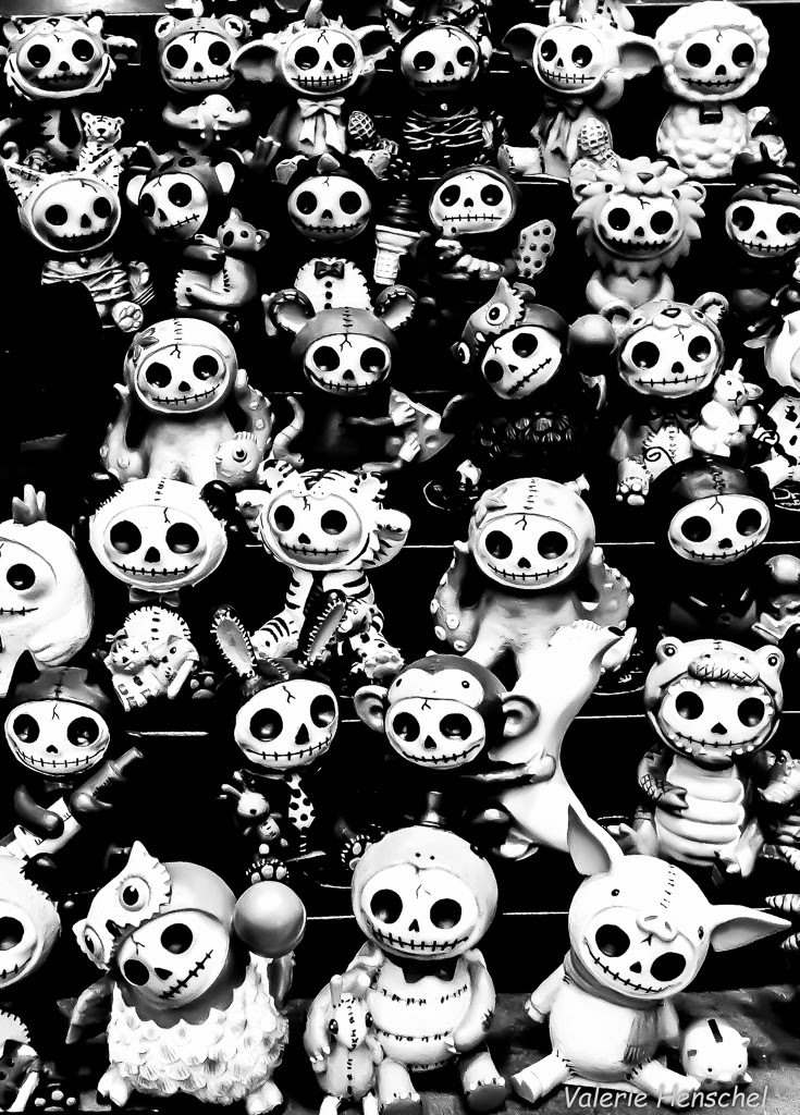 """Day of the Dead Babies"" by Valerie Henschel -- 3d Place A General"