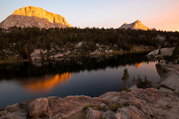 Sunset at Booth Lake