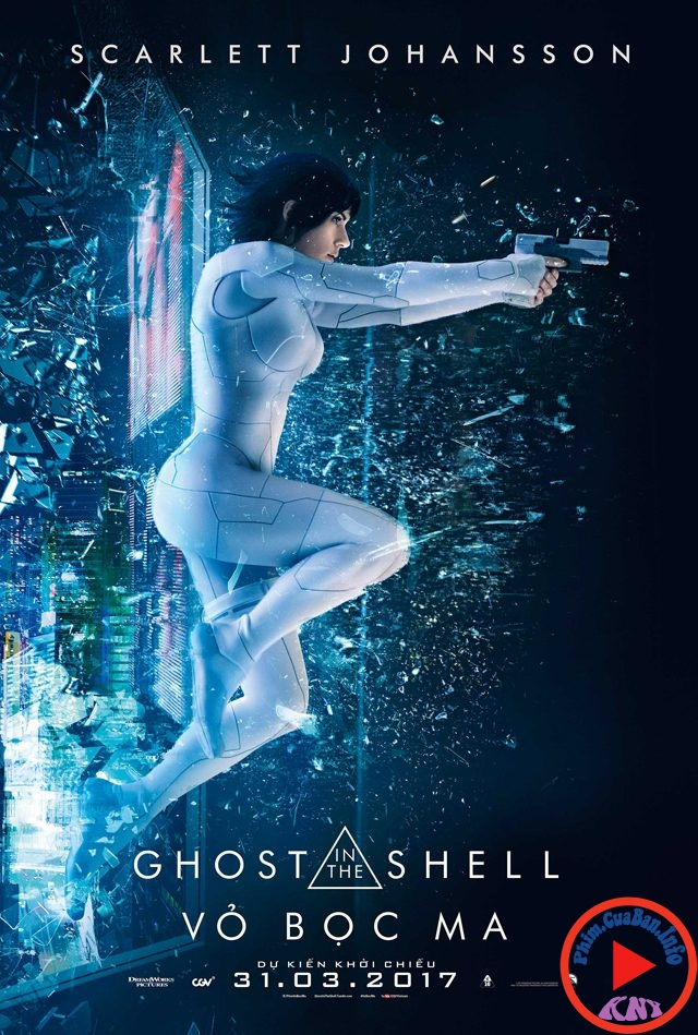Ghost In The Shell - Vỏ Bọc Ma