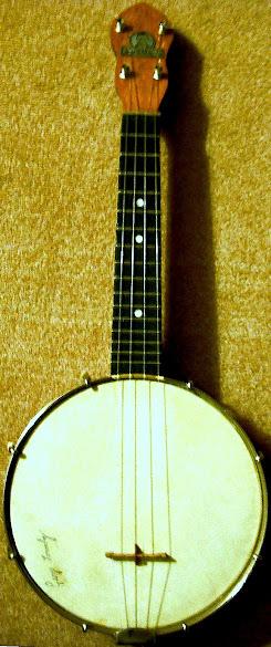 Dallas type A Banjolele banjo ukulele