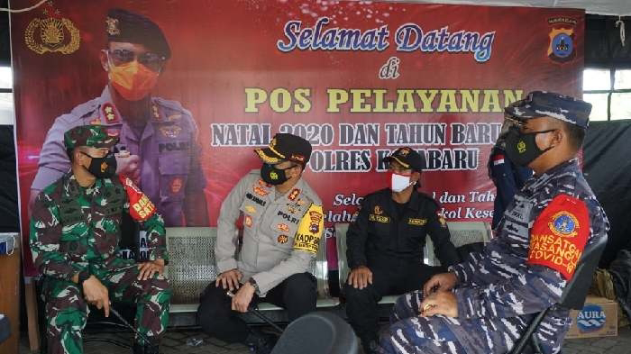 Peringatan, bagi Anda yang mau nekat bikin acara ramai di malam tahun baru. TNI Polri bersama pemerintah daerah akan patroli, memantau apakah ada kegiatan kumpul-kumpul.