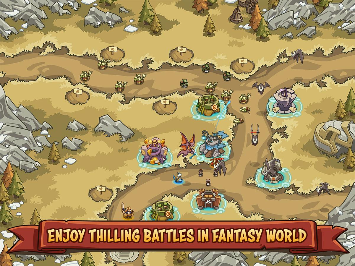 Empire Warriors TD: Defense Battle (Tower Defense) (Unreleased)- screenshot