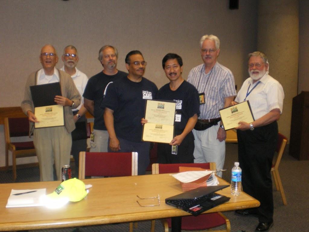 Boy Scouts Certificate Ceremony June 2008