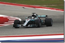 Lewis Hamilton conquista la pole del gran premio degli Stati Uniti 2018