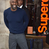 OIC - ENTSIMAGES.COM - Idris Elba at the  Superdry x Idris Elba - launch London Hilton Park lane hotel London 26th of November 2915