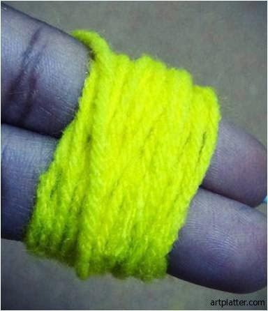 Enrole a lã