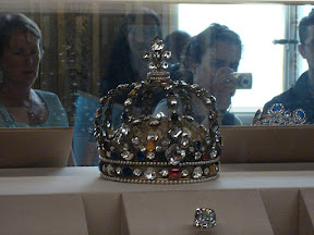 Some of the Crown Jewels in The Louvre