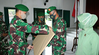 Dandim 0729 Bantul Lepas Dua Perwiranya MPP