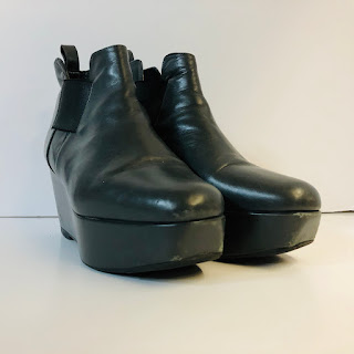 Robert Clergerie Platfrom Chelsea Boots