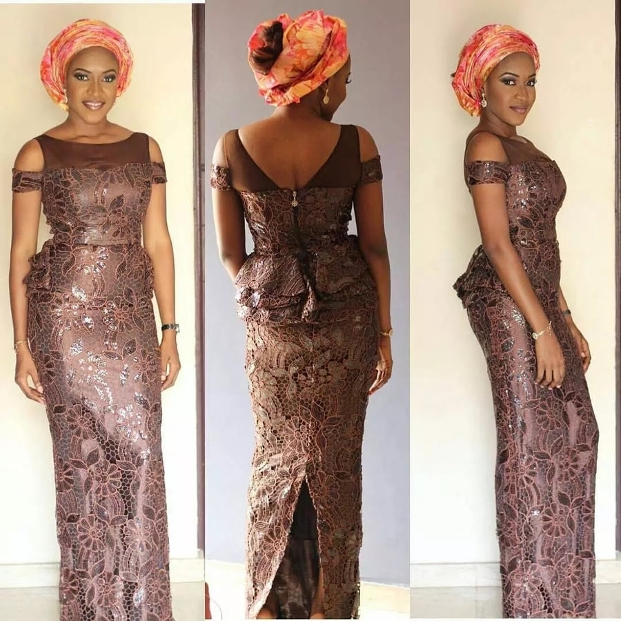 Latest Aso Ebi Styles Dresses For African Woman 3