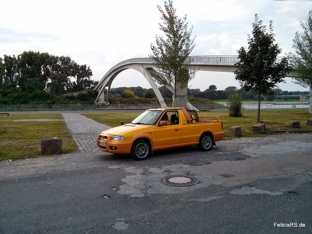 Škoda Felicia FUN in Köln Mühlheim