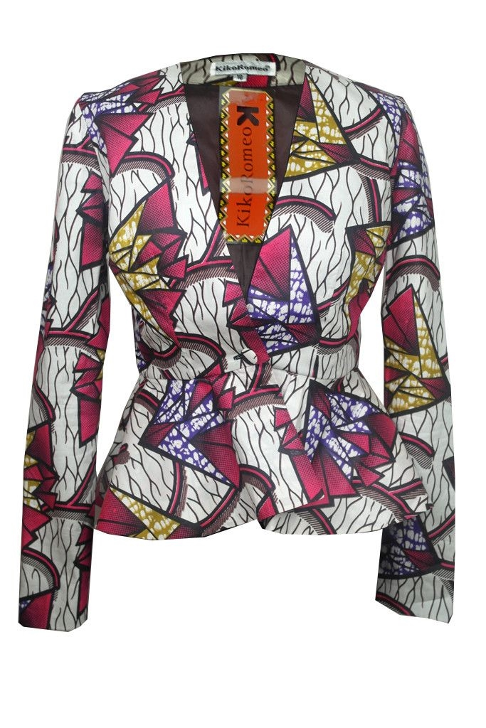 BEAUTIFUL ANKARA JACKET OUTFIT STYLES 2016 2017 Fashionte