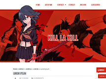 Anime Templates for Blogger: Kill la Kill