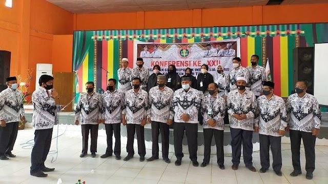 Saiful Basri Dilantik sebagai Ketua PGRI Aceh Timur