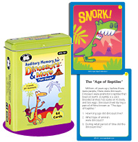 Auditory Memory For Dinosaurs And More Fun Deck Product Review image