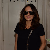 WWW.ENTSIMAGES.COM -    Kara Tointon arriving for her evening performance in Relatively Speaking at Wyndham's Theatre  Leicester Square  London August 17th 2013                                                       Photo Mobis Photos/OIC 0203 174 1069