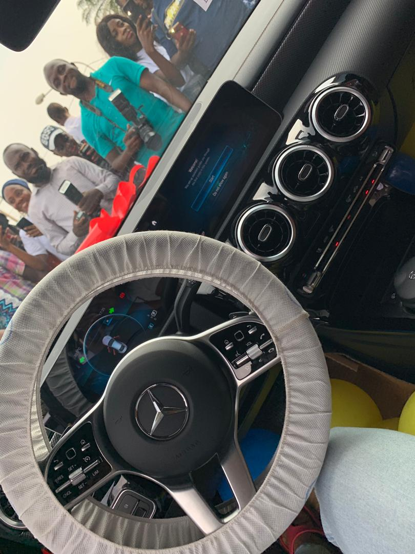 Nigeria Lady Kemisola Ajetunmobi  Woke up This Morning With Mercedes Benz CLA 2019,