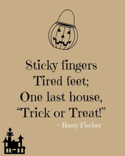 Halloween Greeting Card Sayings. Halloween Sayings