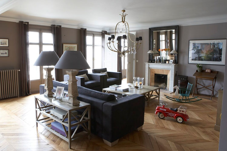 Modern country style how to create a belgian style living room untreated wood for How to make my living room look more modern