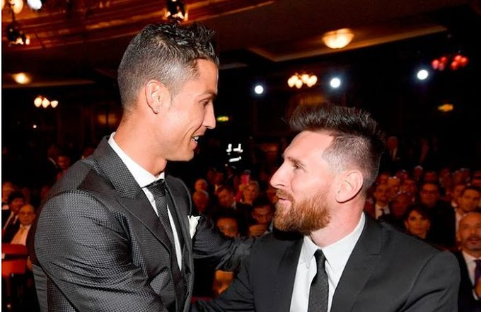 See How Messi Reacted To Cristiano Ronaldo's Champions League Exit With Juventus