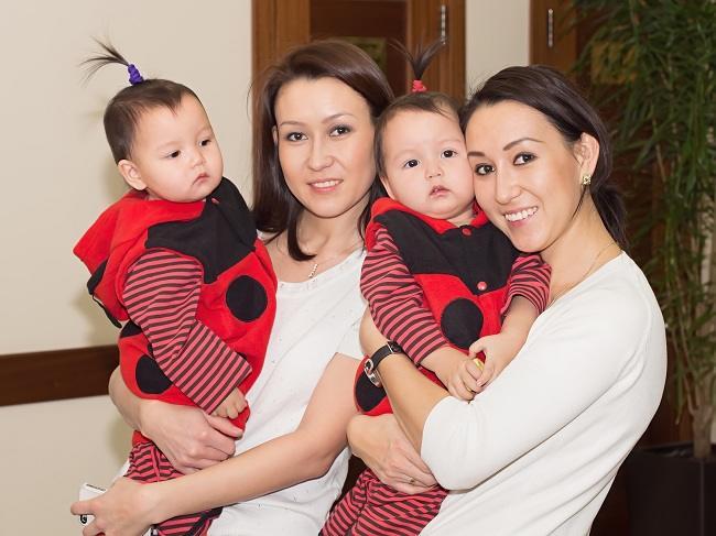 menjadi kembar meningkatkan peluang punya anak kembar