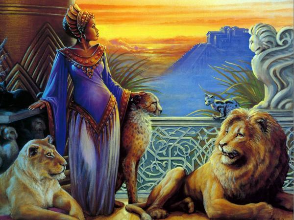 Queen Of Lions, Spirit Companion 4