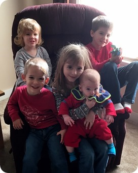 Five Kids is a Handful