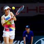STUTTGART, GERMANY - APRIL 19 : Louisa Chirico in action at the 2016 Porsche Tennis Grand Prix