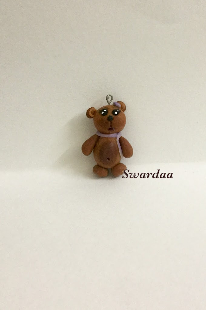 Teddy Bear Miniature Pendant