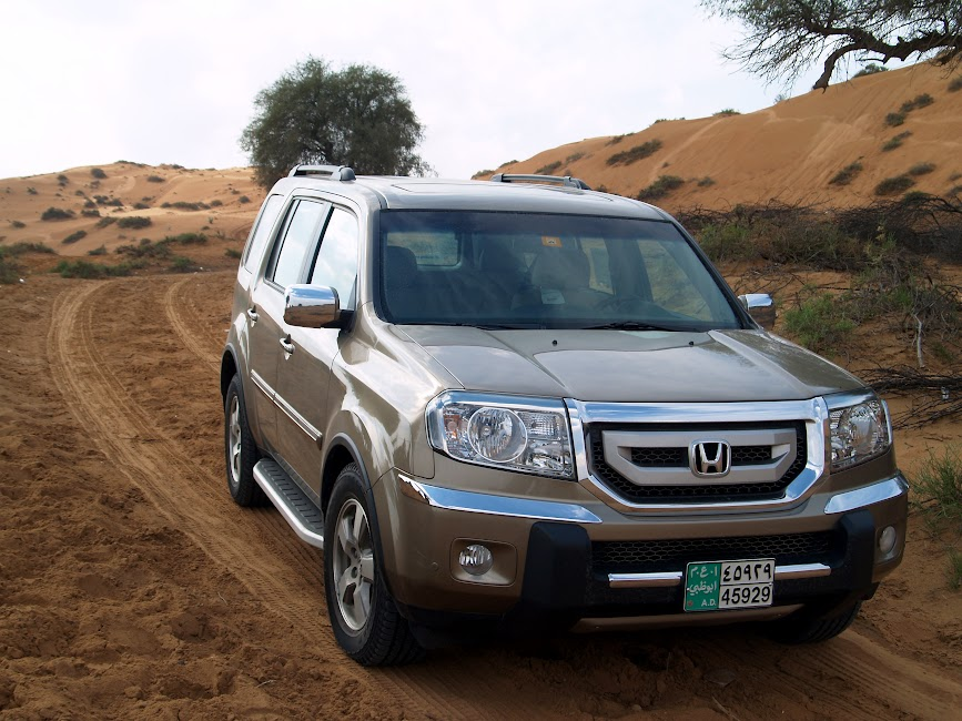 Weekend to Awafi with Honda Pilot | Weekend ideas for the UAE