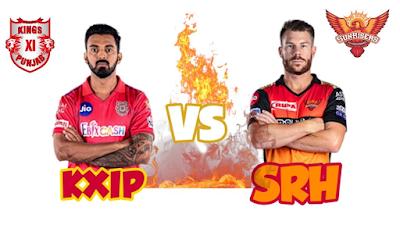 Kings XI Punjab VS Sunrisers Hydrabad