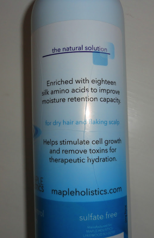 Maple Holistics Hydrate Shampoo for Dry and Itchy Scalp 2