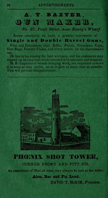 Historic Shot Tower Sales Brochure