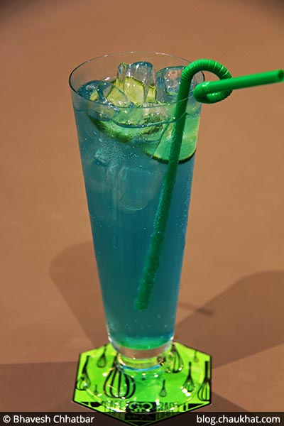 Electric Citrus Lemonade served at 212 All Day Cafe & Bar at Phoenix Marketcity in Pune