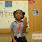 Darpan Hindi Diwas Celebrated by Grade 1 at Witty World, Chikoowadi (2017-18)