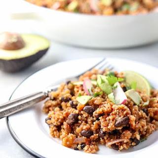 Vegan Enchilada Casserole (Protein-Rich!).
