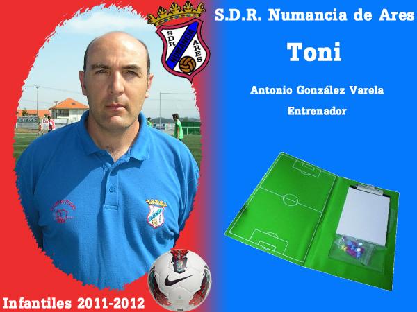 ADR Numancia de Ares. Infantís 2011-2012. TONI.