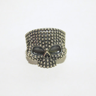 Sterling Silver Nove25 New Scull Ring