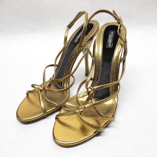 Dolce & Gabbana NEW Bronze Sandals