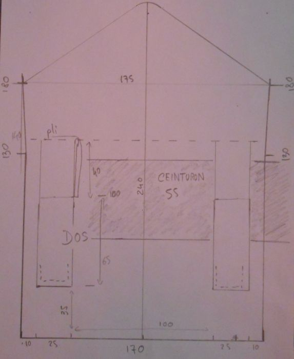 fabriquer une cartouchière modèle 1869 Cartouchiere1869gabarit2